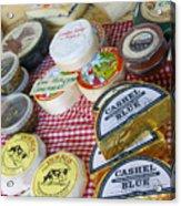 Ireland Cheese Vendor Acrylic Print