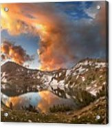 Ireland Lake Sunrise - Yosemite Acrylic Print