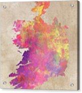 Ireland Map  Acrylic Print