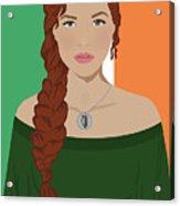 Ireland Acrylic Print by Nancy Levan
