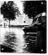 Ireland Rain Acrylic Print