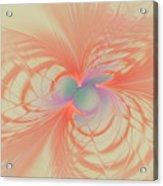 Iridescent Pink Acrylic Print