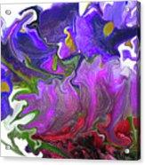 Iris And Tulip Acrylic Print