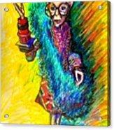 Iris Apfel Acrylic Print