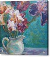 Iris Medley - Original Impressionist Painting Acrylic Print