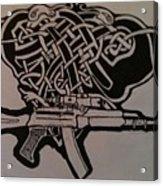 Irish Ak-74 Acrylic Print
