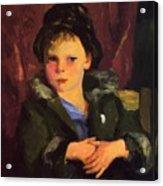 Irish Boy 1898 Acrylic Print