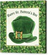 Irish Cap Acrylic Print