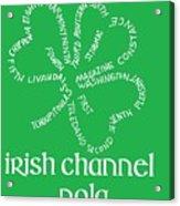 Irish Channel Nola Acrylic Print