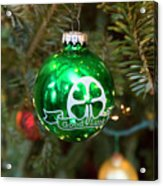 Irish Christmas Acrylic Print