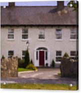 Irish Country Estate Riverstown Ireland Acrylic Print
