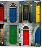 Irish Doors Acrylic Print