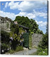 Irish Garden County Clare Acrylic Print
