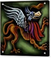 Irish Golden Age #14-jabberwock Acrylic Print