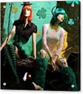 Irish Lovers Acrylic Print
