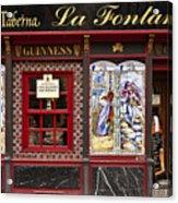 Irish Pub In Spain Acrylic Print