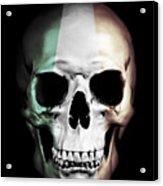 Irish Skull Acrylic Print
