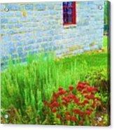 Irish Stone House Acrylic Print