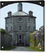 Irish Wisteria Lane Acrylic Print
