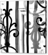 Iron And Shadow Acrylic Print