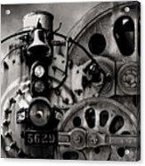 Iron Circles No. 1 Acrylic Print
