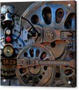 Iron Circles No. 2 Acrylic Print