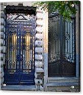 Iron Door Of Brussels Acrylic Print