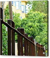 Iron Fence 2 Acrylic Print