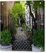 Iron Gate Alley Acrylic Print