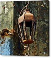 Iron Lamp 7868 Acrylic Print