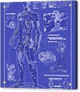 Ironman Patent Acrylic Print