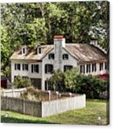 Ironmaster Mansion At Hopewell Furnace  Acrylic Print