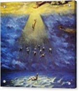 Iroquois Creation Myth Acrylic Print