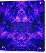 Irradescent Ice Acrylic Print
