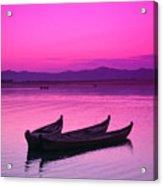 Irrawaddy River Acrylic Print