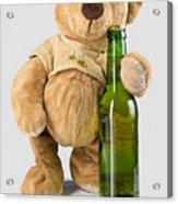 Is It Bear O'clock Yet 03 Acrylic Print