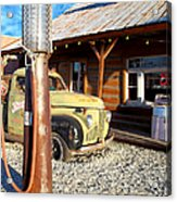 Is That You - Route 66 California Acrylic Print