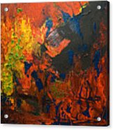 Is There A Way Out 2008 Acrylic Print