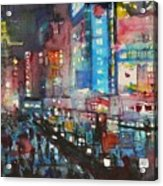 Is There Anything Going On Tonight In Downtown Acrylic Print