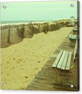 Is This A Beach Day - Jersey Shore Acrylic Print