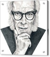 Isaac Asimov Acrylic Print