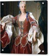 Isabella Farnese. Queen Of Spain Acrylic Print