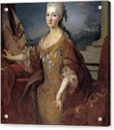 Isabella Louise Of Orleans. Queen Of Spain Acrylic Print