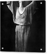 Isadora Duncan (1877-1927) Acrylic Print