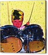 Isaiah The Drummer Acrylic Print