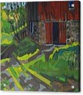 Isaiah Tubbs Barn Acrylic Print