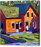 Isaiah Tubbs Neighbour Acrylic Print