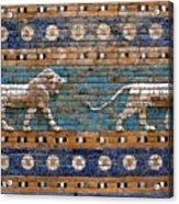 Ishtar Gate Acrylic Print