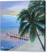 Isla Morada Sunset Acrylic Print