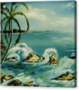 Isla Verde Acrylic Print